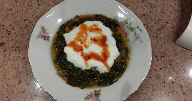 Zeytinyağlı Havuçlu Ispanak