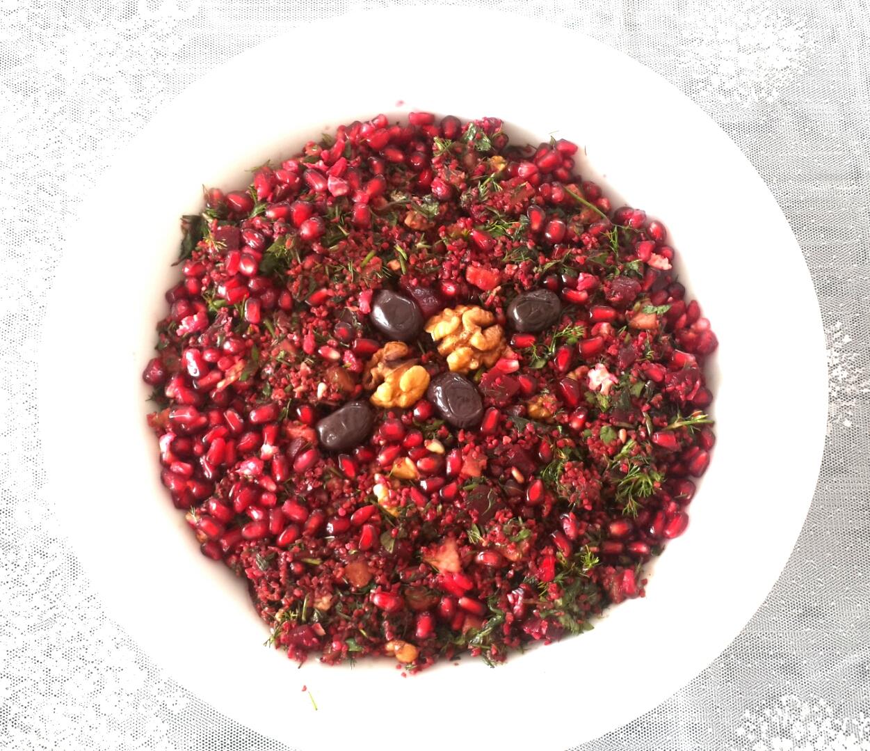Kırmızı Pancarlı Bulgur Salatası Videosu